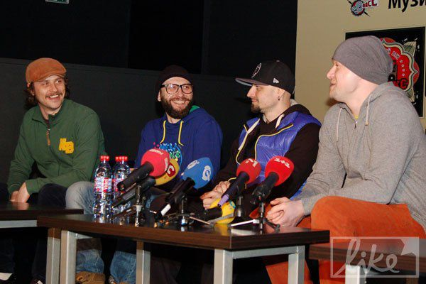 """""""Бумбокс"""" перед киевским концертом"""