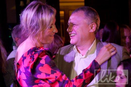 Игорь Суркис с женой