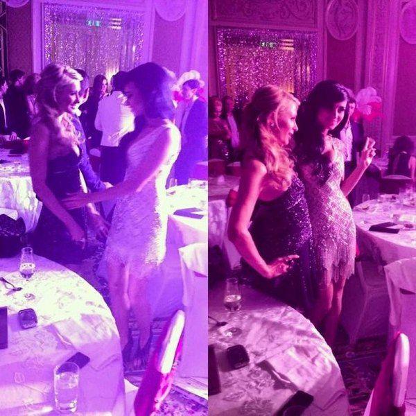 Хилтон и третья вице-мисс Украина Даша Прихно