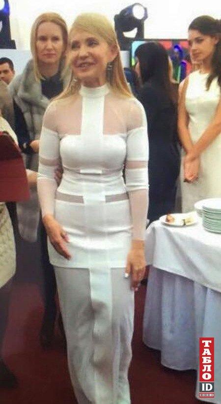 """""""Платье Лилу"""", в котором Тимошенко праздновала 55-летие, для нее пошила Айне Гассе"""