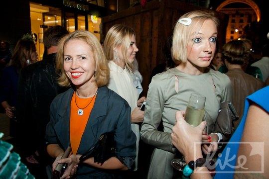 Супруга народного депутата Николая Катеринчука Анастасия и телеведущая Василиса Фролова