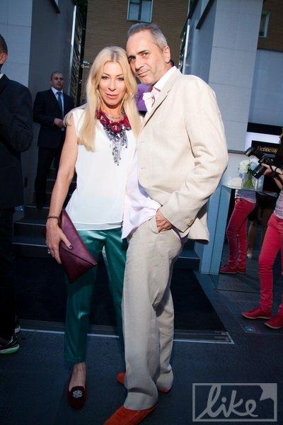 Тусовщица Ольга Громова с мужем