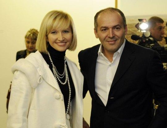 Елена и Виктор Пинчук