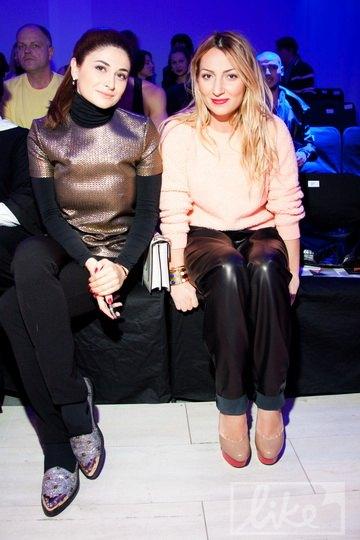 Дочь Тариэла Васадзе Нина (слева) и дочь украинского строительного магната Ася Мхитарян (справа)
