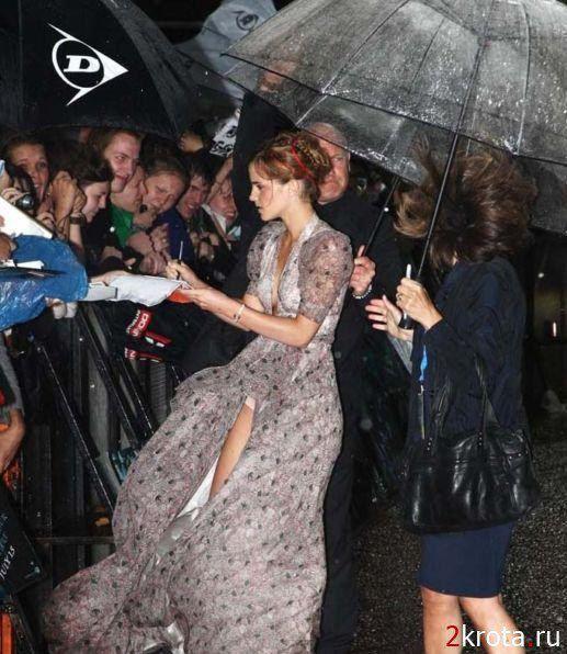 """В 2009 году на премьере """"Гарри Поттера"""" с актрисой уже случался подобный казус"""