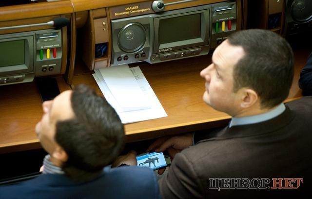 Владимир Мальцев в Раде выбирал оружие