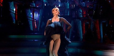 Победительницу британских «Танцев со звездами» заподозрили в «отсутствием трусов» во время финала