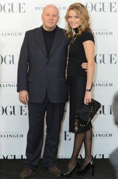 Политик Михаил Бродский с женой