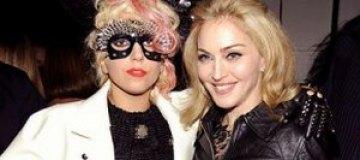 Мадонна призналась в любви Леди Гаге