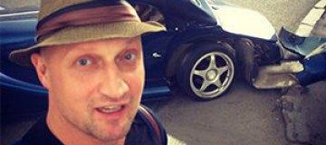 Гоша Куценко попал в аварию