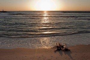 В Тель-Авиве туристы нашли на пляже материалы израильской разведки
