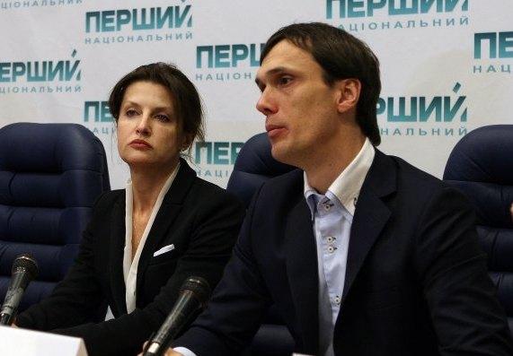 Марина Порошенко и Егор Бенкендорф