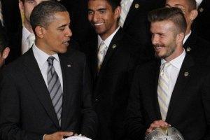 Дэвид Бекхэм сделал модную укладку для встречи с Обамой