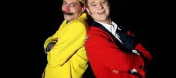 Делиев и Барский на Крещатике делали из людей клоунов
