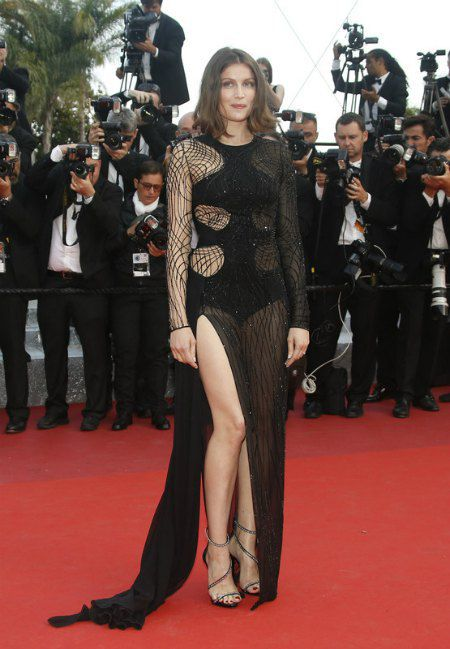 Французская модель и актриса Летиция Каста