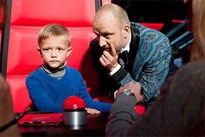 """Потап показал своего шестилетнего сына на шоу """"Голос. Дети"""""""