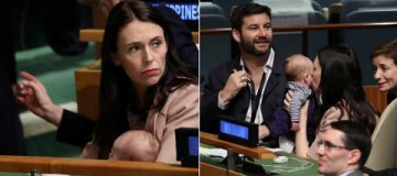 Премьер Новой Зеландии взяла 3-месячную дочку на заседание Генассамблеи ООН