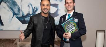 Песня Despacito получила семь титулов в Книге рекордов Гиннеса