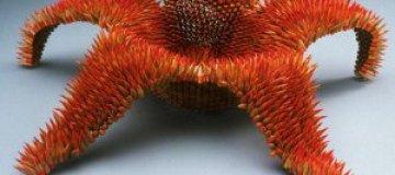 Необычные скульптуры из карандашей