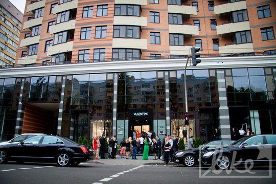 Открытие бутика Valentino