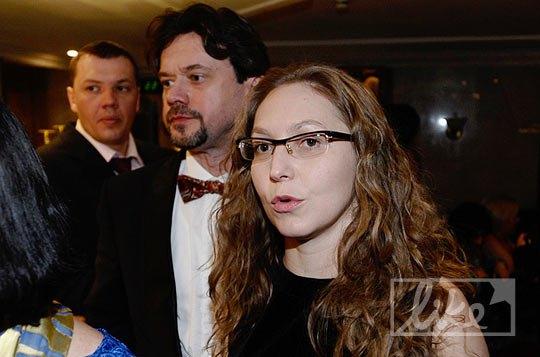 Актер Остап Ступка с супругой Ириной