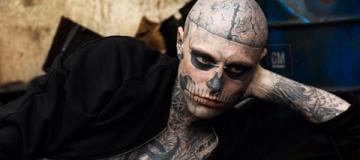 Самый татуированный артист Zombie Boy покончил с собой