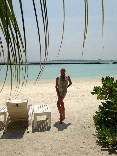 """Волочкова: """"Рай!!! Мальдивы!!!"""""""