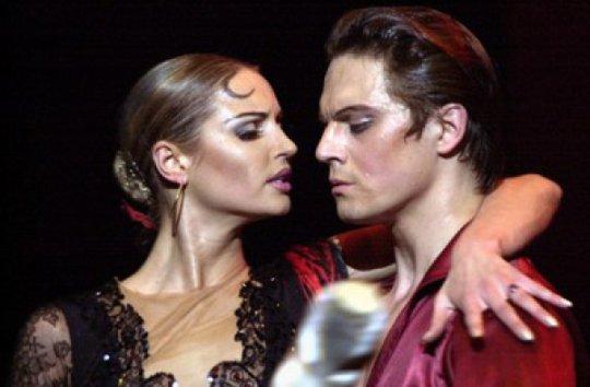 Анастасия и Ринат на сцене