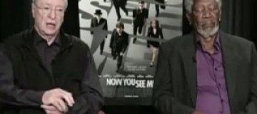 Морган Фримен заснул во время интервью