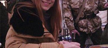 Светлана Тарабарова спела для военных в Крыму