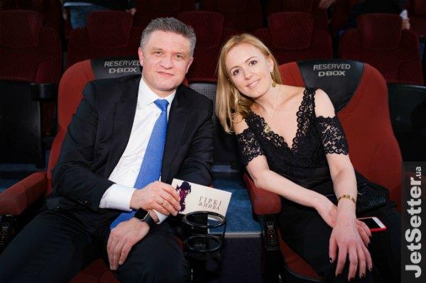 Замглавы АП Дмитрий Шимкив с женой