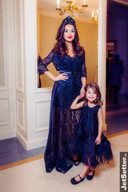 Фаина Тедеева с дочкой