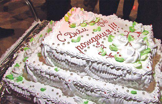 Именинный торт Светлакова