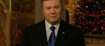 Януковичу на Рождество в женском монастыре подарили икону