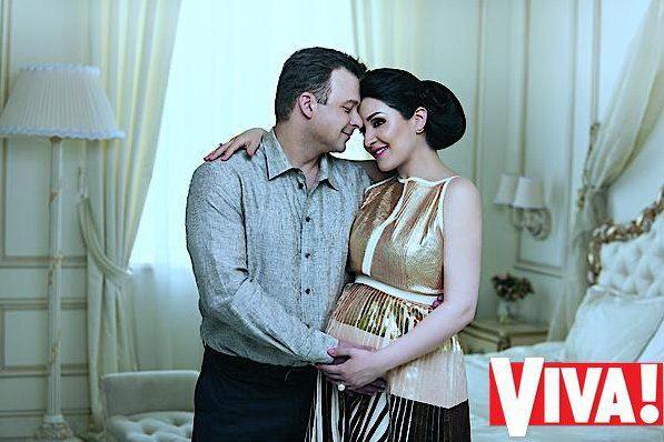 Александр Колодий и Алина Завальская накануне рождения дочки