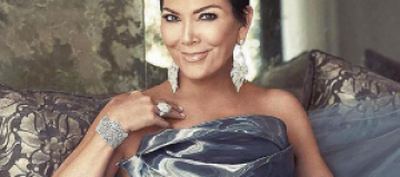 Мать Ким Кардашьян вышла на красную дорожку в наряде от украинского дизайнера