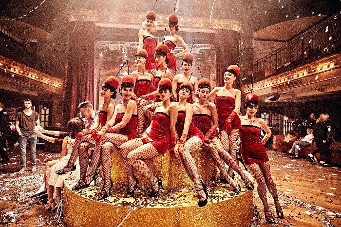 Freedom Balletво время съемок мюзикла