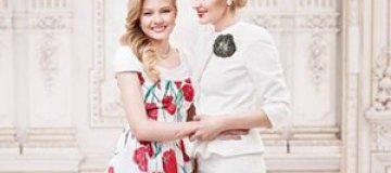 Рената Литвинова снялась в рекламе с дочкой