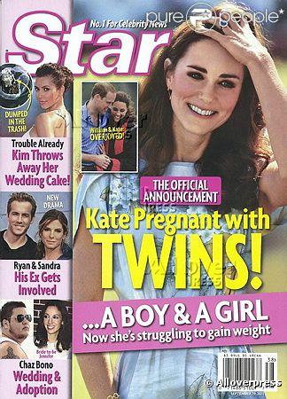 Издание утверждает, что Кейт беременна двойней
