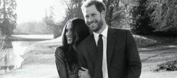 Принц Гарри и Меган Маркл представили фото в честь помолвки