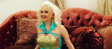 Катя Бужинская сломала руку