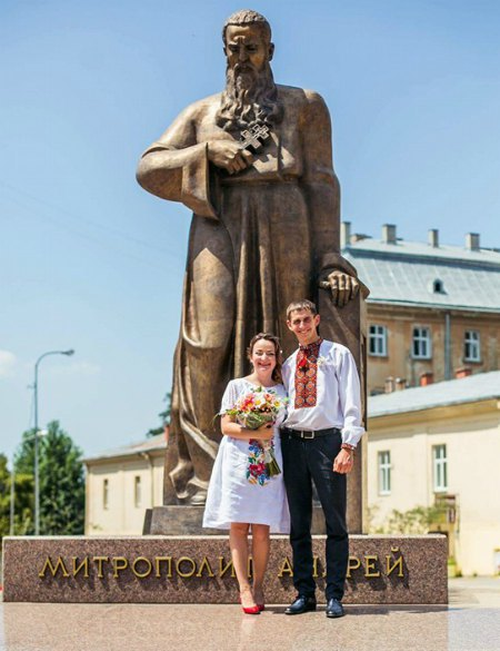 Дочка Фарион София Семчишин и Василь Особа