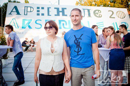 Денис Силантьев с супругой Инной