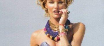Кандис Сванеполь снялась для бразильского Vogue