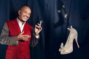 Кристиан Лубутен создал туфли для Золушки