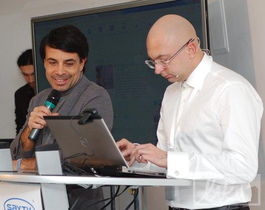 Валид Арфуш и Алексей Семеной