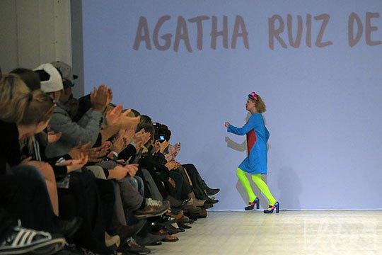 Дизайнер Agatha Ruiz de la Prada