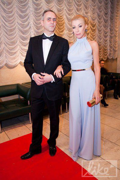 Дизайне Ольга Громова с мужем Саймоном Джекменом