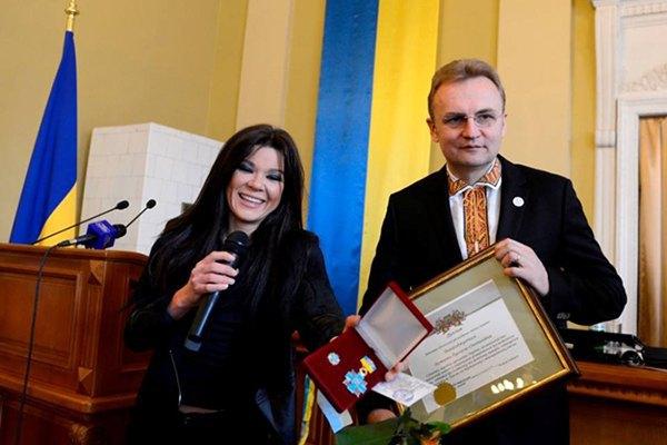 Руслана и Андрей Садовой