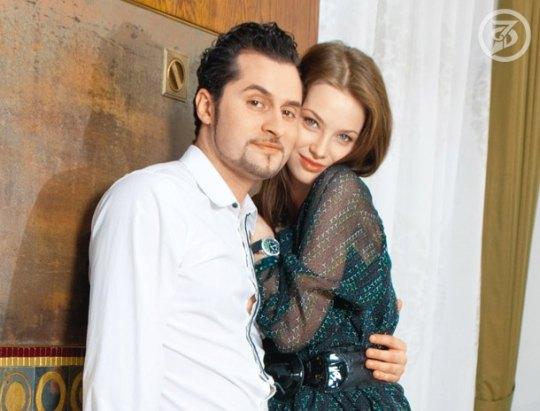 Иракли с любимой женой Софией